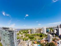 Panorama van Vicente Lopez Royalty-vrije Stock Foto's