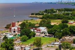 Panorama van Vicente Lopez Royalty-vrije Stock Afbeeldingen