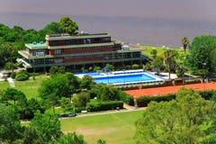 Panorama van Vicente Lopez Stock Afbeelding