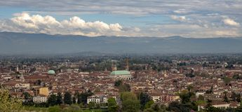 Panorama van Vicenza royalty-vrije stock fotografie