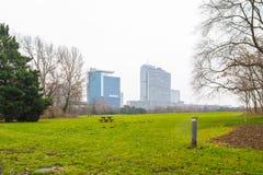Panorama van Wenen Stock Foto's