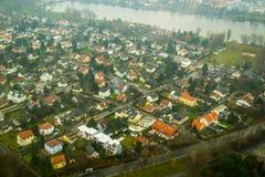 Panorama van Wenen Royalty-vrije Stock Afbeeldingen