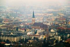 Panorama van Wenen Stock Afbeelding