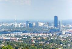 Panorama van Wenen Stock Fotografie