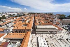 Panorama van Zadar royalty-vrije stock foto