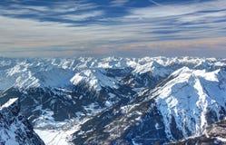 Panorama van Zugspitze. Royalty-vrije Stock Afbeeldingen