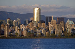 Panorama of Vancouver Royalty Free Stock Images