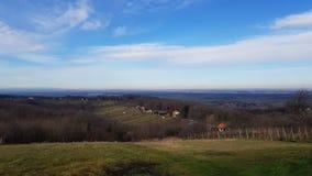 Panorama. Varaždin Croatia Nature stock images