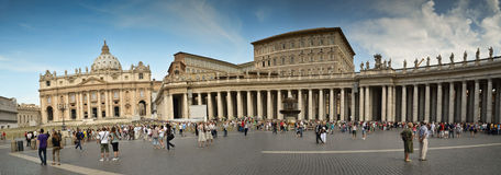Panorama Vatican Royalty Free Stock Images