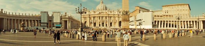 Panorama of Vatican Stock Image