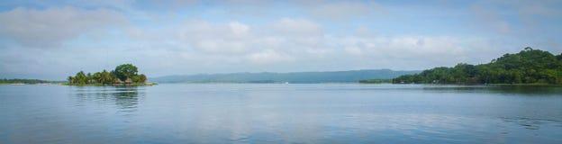 Panorama- vattenväg Royaltyfria Foton
