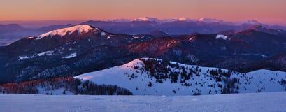Panorama Velka Fatra góry obraz stock