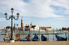 Panorama- Venedig beskådar Arkivfoto
