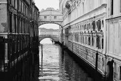 Panorama- Venedig stadsgeometri royaltyfria bilder
