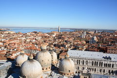 Panorama of Venice Royalty Free Stock Photo
