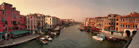Panorama from venice Stock Photography