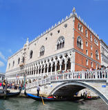 Panorama of Venice Stock Image