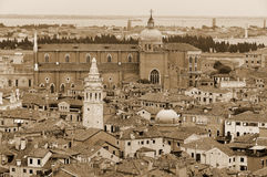 Panorama of Venice Royalty Free Stock Photography