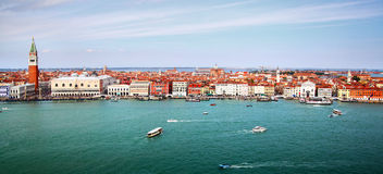 Panorama of Venice Royalty Free Stock Photos