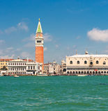 Panorama of Venice, Italy Stock Image