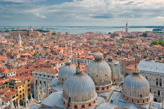 Panorama of Venice, Italy Royalty Free Stock Photography