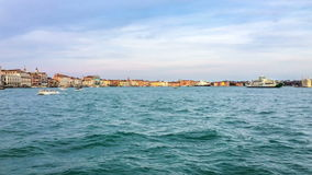 Panorama of Venice, Italy stock video footage