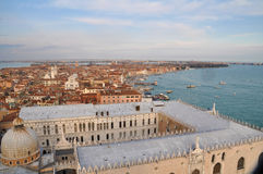 Panorama of Venice, Italy Royalty Free Stock Image
