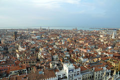 Panorama of Venice, Italy Stock Photography