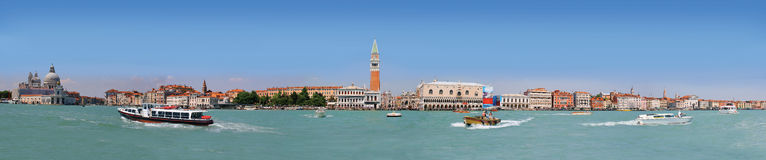 Panorama of Venice Lagoon royalty free stock image