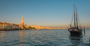 Panorama of Venice. royalty free stock images