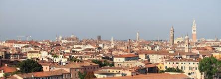Panorama of Venice Stock Image