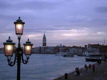 panorama Venice Panoramiczny wizerunek Wenecja, Włochy zdjęcie stock