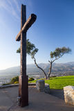 Panorama of Ventura from Grant Park Stock Image