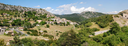 Panorama Verdon region (Provence) Stock Photography