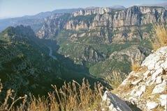 panorama verdon wąwóz Obrazy Stock