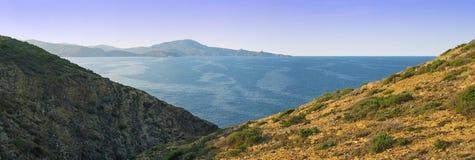 Panorama in Vermilion coast Stock Images