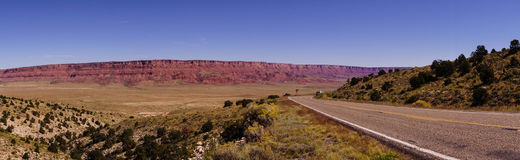 Panorama of  Vermillion Cliffs Royalty Free Stock Photos