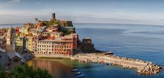 Panorama Vernazza Cinque terre. Royalty Free Stock Photos