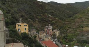 Scenic Vernazza Village stock video