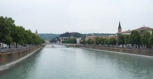 Panorama- Verona Royaltyfri Bild