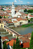 Panorama of Verona, Itali Stock Image