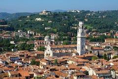 Panorama of Verona, Italy, Europe Royalty Free Stock Photo