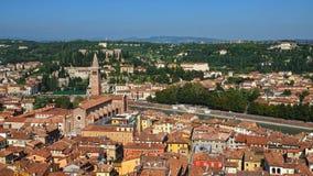 Panorama of Verona, Italy, Europe Stock Photos