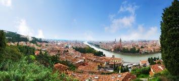 Panorama of Verona Royalty Free Stock Photos