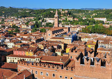 Panorama of Verona Stock Image