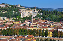 Panorama of Verona Royalty Free Stock Photography