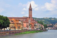 Panorama of Verona Royalty Free Stock Images