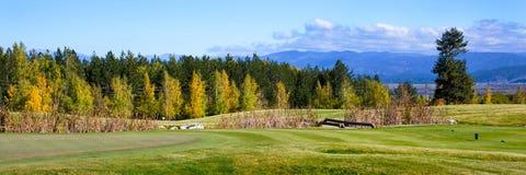 Panorama vibrant de nature avec des pierres, colorées photos stock