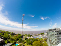 Panorama of Vicente Lopez Stock Images