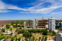 Panorama of Vicente Lopez Royalty Free Stock Image